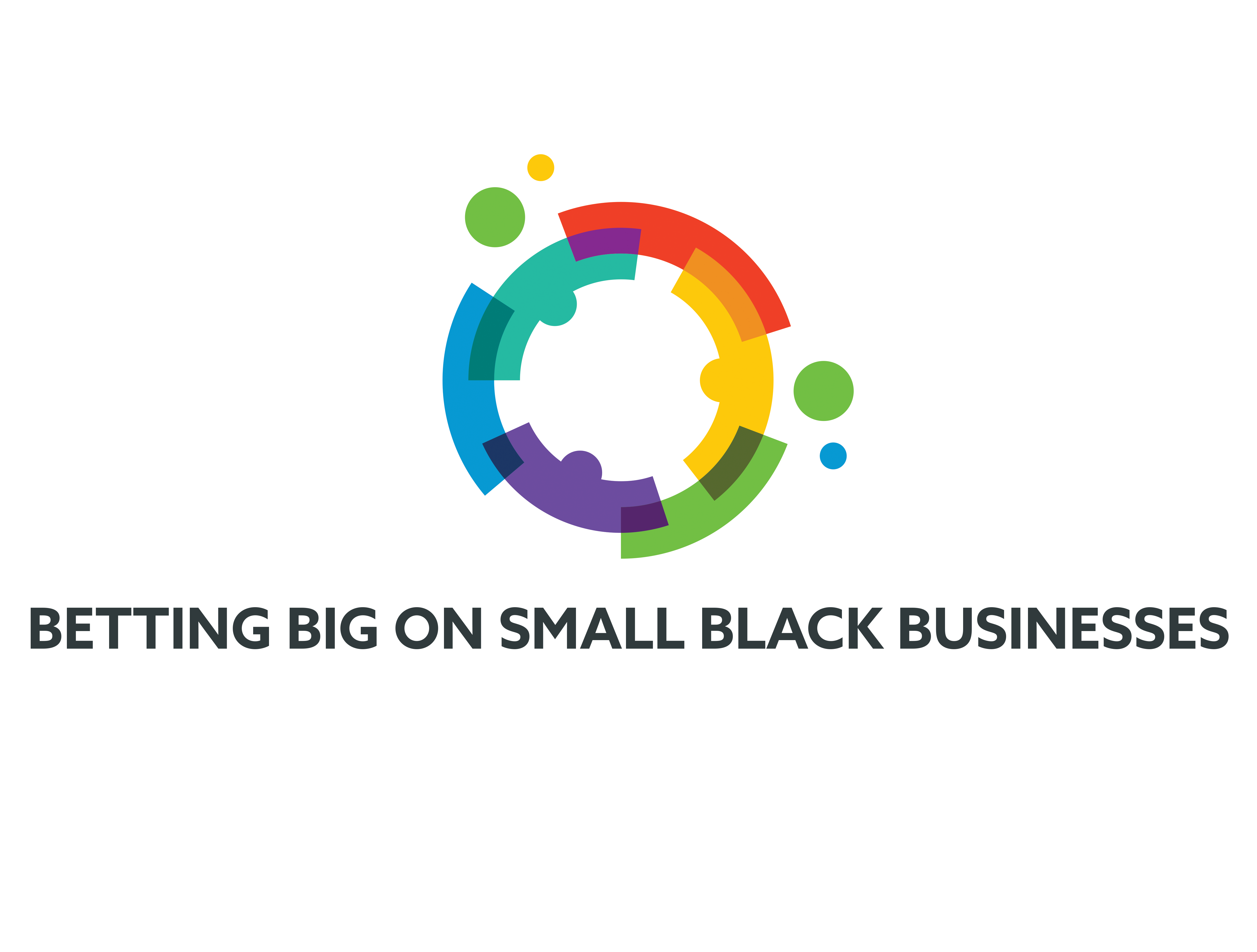 Betting Big on Small Black Businesses logo