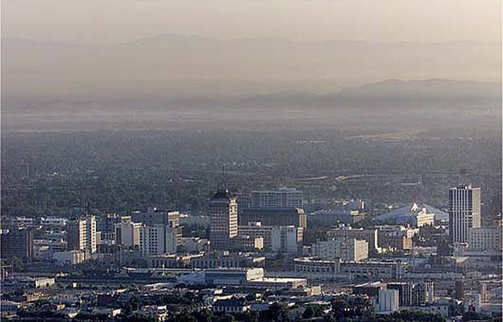 Air pollution in the Central Valley